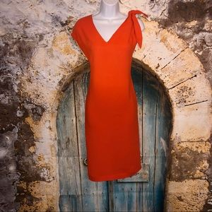 Authentic Fendi Coral Dress Sz 40IT (US Sz 4)